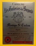 10621 - Château Les Tuileries De Bayard 1983 Montagne-Saint Emilion - Bordeaux