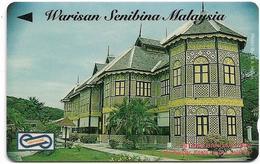 Malaysia (Uniphonekad) - Istana Bandar, Architecture, 80MSAB, 1994, 200.000ex, Used - Malaysia