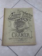 Les Célébrités Musicales -(Musique R.P. Cramer) - Partition (Piano) - Instruments à Clavier