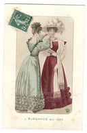 MODE - L' ELEGANCE EN 1825 - FEMME - CHAPEAU - FASHION - HAT - Moda