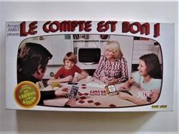 JEU - LE COMPTE EST BON - 45 X 24 Cm. - C 12 - Brain Teasers, Brain Games