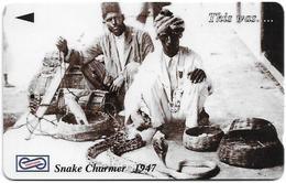 Malaysia (Uniphonekad) - Snake Charmer, This Was.., 35USBB, 1995, Used - Malaysia
