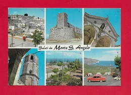 CARTOLINA NV ITALIA - Saluti Da MONTE S. ANGELO (FG) - Vedutine Multivue - 10 X 15 - Saluti Da.../ Gruss Aus...