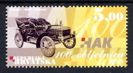 CROATIA 2006 Centenary Of Automobile Club MNH / **.  Michel 778 - Croatie