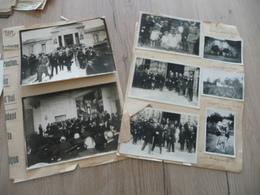 Archive Photo Et Cartes Photos Reims Maire Et Personnalités Collées Sur Papier - Célébrités