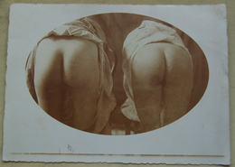 Ancienne Photographie De Paire De Fesses Nues  Format 13x18 - Photographie