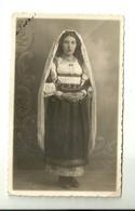 """4297 """"COSTUME FEMMINILE SARDO DEL 1944""""DEIANA SALVATORE FOTO MODERNA NUORO - FOTOCART. POST. ORIG. NON SPEDITA - Costumi"""
