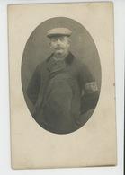 MARCOING - Belle Carte Photo Portrait Homme Avec Brassard écrite En 1920 - Marcoing