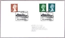 OCEAN LINERS - Barco SS CANBERRA (1961). Belfast 2004 - Barcos