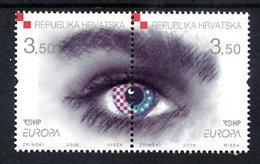 CROATIA 2006 Europa: Integration MNH / **.  Michel 772-73 - Croatie