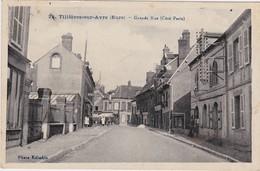 27 -   TILLIÈRES SUR AVRE  Grande Rue (Côté Paris) - Tillières-sur-Avre