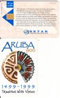 ARUBA - Aruba 500 Years 1499-1999, Tradition With Vision, Tirage %80000, 03/99, Used - Aruba