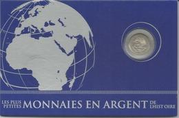 Messico, 1953, 25 Cent. Ag. Collection Les Plus Petites Monnaies En Argent De L'histoire. - Messico