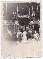 77 MEAUX - Photo Originale - Entrée De La Foire De MEAUX 1933 - Animée - Meaux