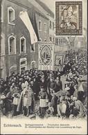 1958  -  ECHTERNACH  -  Springprozession - Procession Dansante - Der Bischof Von Luxembg Im Zuge - Cartes Maximum