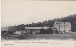27 -   Environs De TILLIÈRES SUR AVRE  BÉROU LA MULOTIÈRE  Colonie St Louis - Tillières-sur-Avre