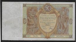 Pologne - 50 Zlotych - Pick N°71 - 1929 - SUP - Pologne