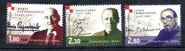 CROATIA 2006 Croatian Musicians  MNH / **.  Michel 751-53 - Croatie