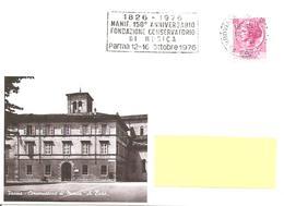 ITALIA - 1976 PARMA 150° Fondazione Conservatorio Di Musica - Annullo A Targhetta - Musica