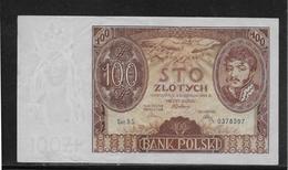 Pologne - 100 Zlotych - Pick N°75 - 1934 - SUP - Pologne