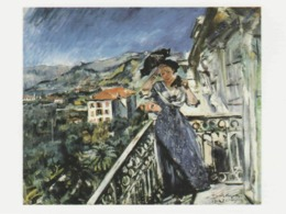 Postcard - Art - Lovis Corinth - On The Balcony In Bordighera 1912, Card No..mu2505 New - Postcards