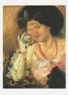 Postcard - Art - Lovis Corinth - Woman With A Glass Of Wine 1908, Card No..mu2499 New - Postcards