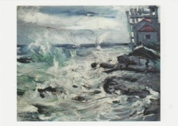 Postcard - Art - Lovis Corinth - Storm At Capo D'Ampeglio, Card No..mu2506 New - Postcards
