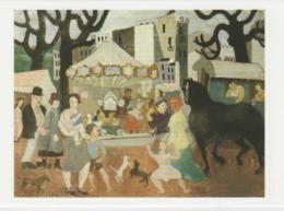 Postcard - Art - Christopher Wood - La Foire De Neuilly 1923 Card No..mu2256 New - Cartes Postales