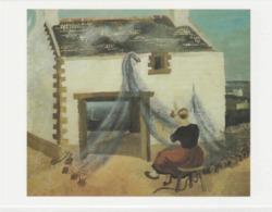 Postcard - Art - Christopher Wood - Mending The Nets, Treboul 1930 Card No..mu2251 New - Postcards