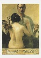 Postcard - Art - Lovis Corinth - Self-Portrait With Model 1903, Card No..mu2495 New - Postcards