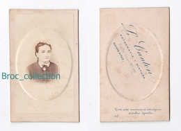 Photo Cdv D'une Jeune Fille, Photographe L. Canton, Buenos Aires, Album Seguin - Anciennes (Av. 1900)