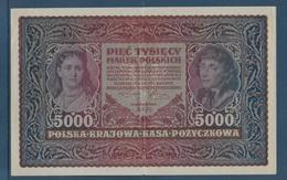 Pologne - 5000 Marek - Pick N°31 - 1920 - SUP - Pologne