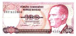 Billets >  Turquie > 100 Lires - Turquie