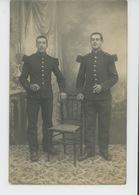 MILITARIA - CHARLEVILLE MEZIERES - Belle Carte Photo Portrait Militaires (N° 147 ) écrite Au FORT DES AYVELLES En 1912 - Charleville