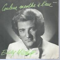 """45 Tours SP - EDDY MITCHELL - BARCLAY 620597  """" COULEUR MENTHE A L'EAU """" + 1 - Vinyles"""