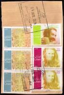 Libanon 2011, Michel# 1534, 1537, 1529 O Famous People Sabah/ Hassan Alaa Eddine/ Phoenician Alphabet - Libanon