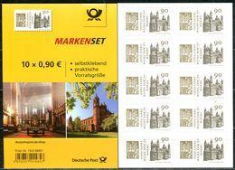 A06-01-10) BRD - 10x Mi 3398 Gestanzt = FB 78 - ** Postfrisch - 90C      1000 Jahre Dom Zu Worms - Ausgabe: 07.06.2018 - Unused Stamps