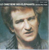 """45 Tours SP - EDDY MITCHELL - BARCLAY 100234  """" LE CIMETIERE DES ELEPHANTS """" + 1 - Vinyles"""