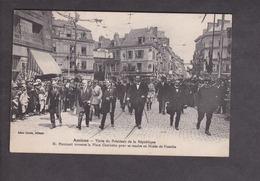 Amiens.80.Somme.  Visite Du President De La Republique . M.Poincare Place Gambetta Direction Musee De Picardie . - Amiens