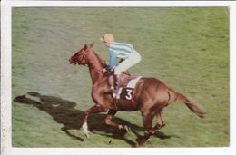 Cp Postillon  Calendrier Des Courses Juin 1967 - Calendriers