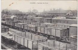 71 -   CHAGNY  Intérieur Des Gares - Chagny