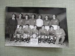 PHOTO EQUIPE DE FOOT FOOTBALLEURS FRANCE POLOGNE 1962 - Sports