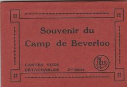 Bourg-Léopold ,Kamp Van Beverloo ,  Carnet  10 Cartes , 10 Kaarten , 2e Série - Leopoldsburg (Camp De Beverloo)