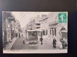 CPA.(62) LE TOUQUET-PARIS PLAGE. La Rue De Paris. Tramway..  (G Bis 339) - Le Touquet