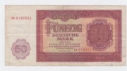 Billet 50 DM De 1955 Pick 20 - [ 7] 1949-… : RFD - Rep. Fed. Duitsland