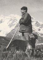 LE BERGER Appuyé Sur Son Bâton Et Son Chien En Montagne - Allevamenti
