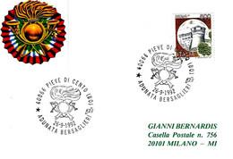 ITALIA - 1992 PIEVE DI CENTO (BO) Adunata Bersaglieri - Militaria