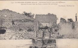 LA GRANDE GUERRE 1914-17 - REMBERCOURT Aux POTS (Meuse) - Weltkrieg 1914-18