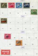 13329 NICARAGUA Collection Vendue Par Page N°300/3, 3310, 312, 324, 330, 333, Service Aérien 12,39/40,47°/*1933-39  B/TB - Nicaragua