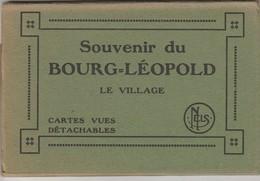 Souvenir Du Bourg-Léopold , Leopoldsburg , Le Village ; Carnet 10 Cartes , Boekje 10 Kaarten - Leopoldsburg